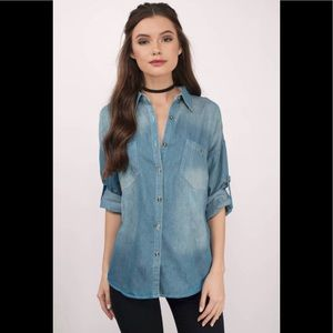 Denim Dark Wash Shirt